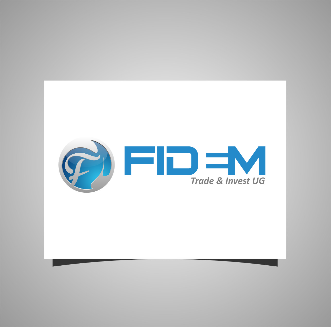 Logo Design by RasYa Muhammad Athaya - Entry No. 500 in the Logo Design Contest Professional Logo Design for FIDEM Trade & Invest UG.