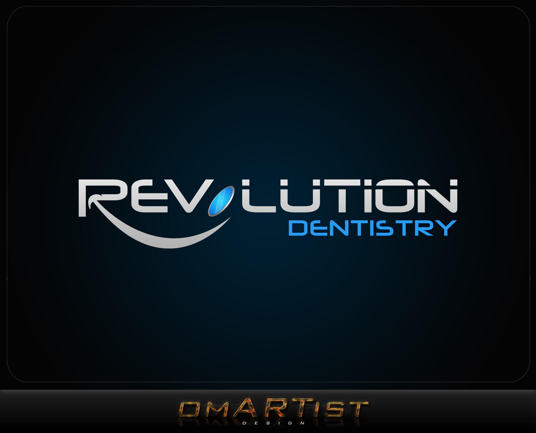 Logo Design by omARTist - Entry No. 262 in the Logo Design Contest Artistic Logo Design for Revolution Dentistry.