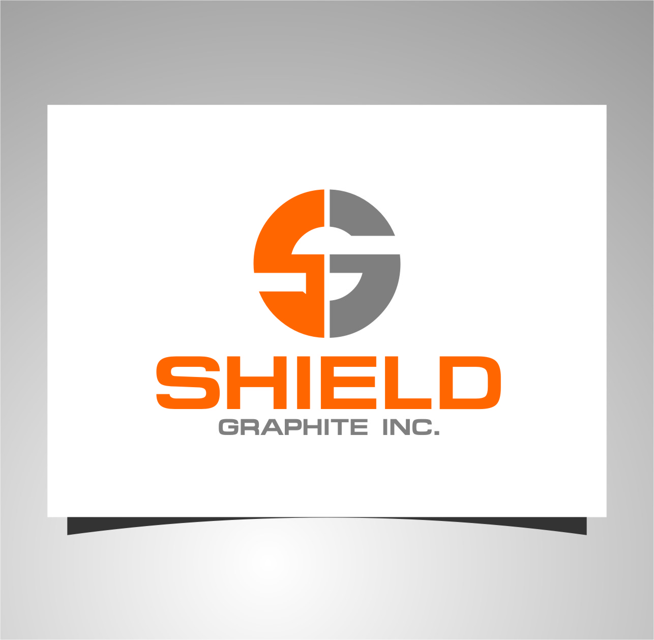 Logo Design by Ngepet_art - Entry No. 13 in the Logo Design Contest Imaginative Logo Design for Shield Graphite Inc..