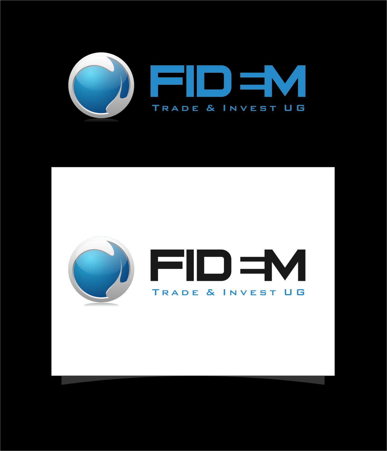 Logo Design by RoSyid Rono-Rene On Java - Entry No. 515 in the Logo Design Contest Professional Logo Design for FIDEM Trade & Invest UG.