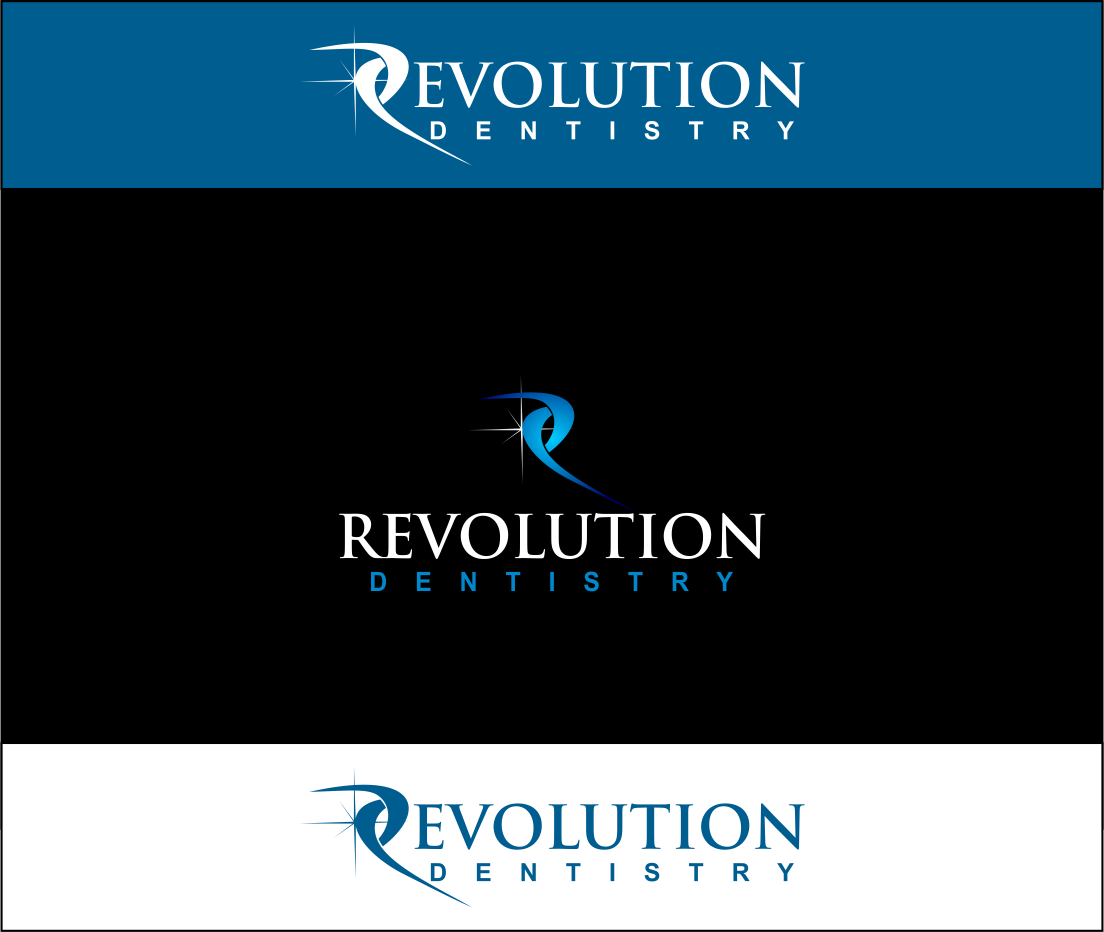 Logo Design by Agus Martoyo - Entry No. 263 in the Logo Design Contest Artistic Logo Design for Revolution Dentistry.