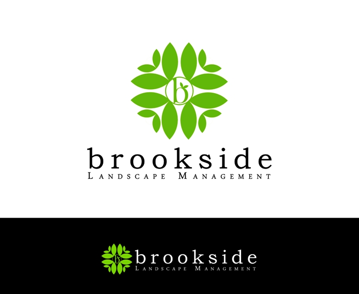 Logo Design by Juan_Kata - Entry No. 134 in the Logo Design Contest New Logo Design for Brookside Landscape Management.