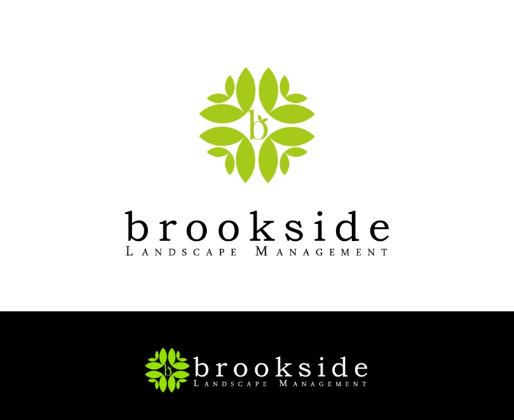 Logo Design by Juan_Kata - Entry No. 137 in the Logo Design Contest New Logo Design for Brookside Landscape Management.