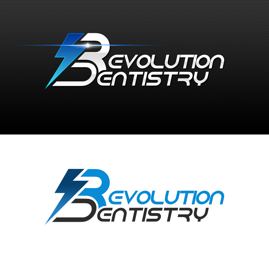 Logo Design by Indika Kiriella - Entry No. 267 in the Logo Design Contest Artistic Logo Design for Revolution Dentistry.