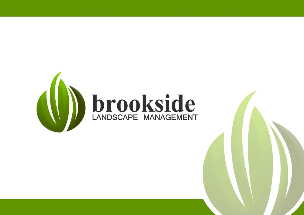 Logo Design by Respati Himawan - Entry No. 138 in the Logo Design Contest New Logo Design for Brookside Landscape Management.
