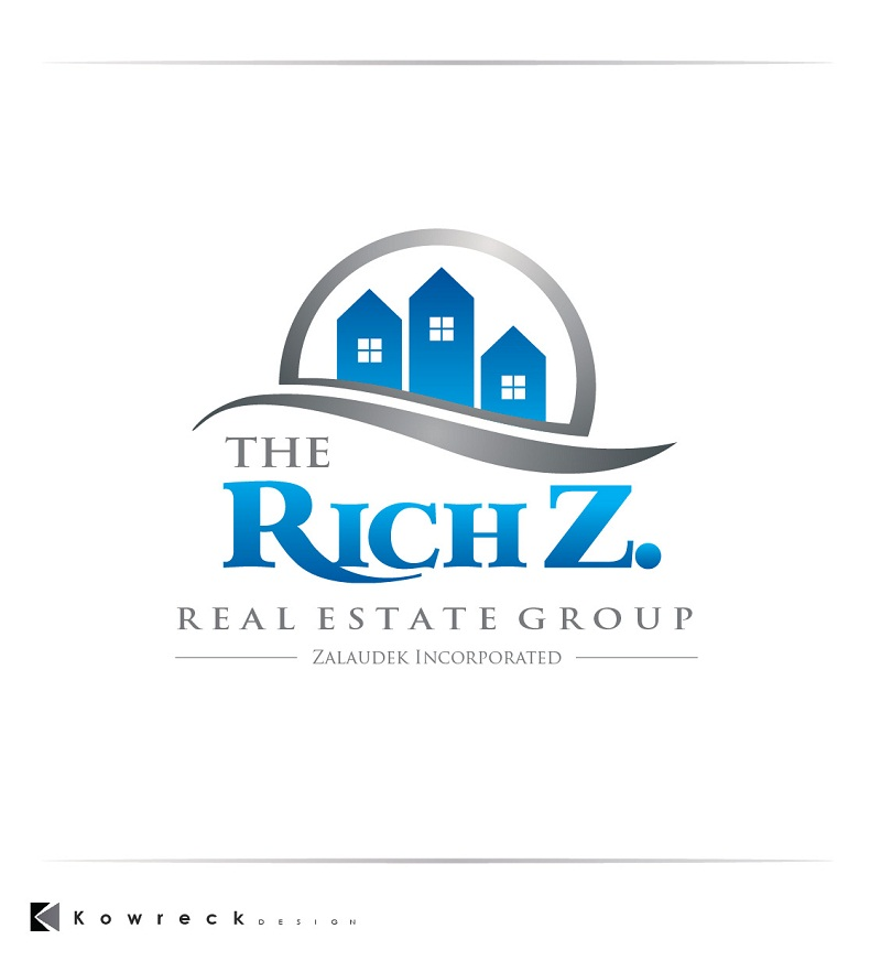 Logo Design by kowreck - Entry No. 22 in the Logo Design Contest The Rich Z. Real Estate Group Logo Design.