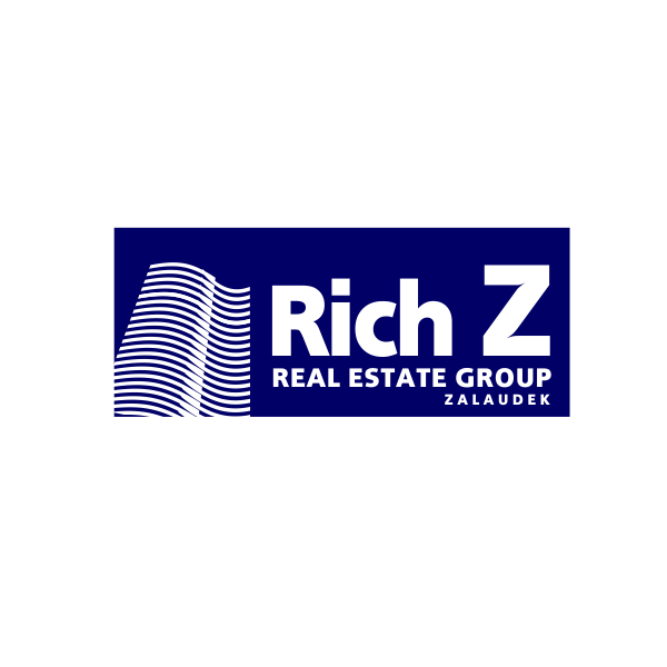 Logo Design by Rudy - Entry No. 23 in the Logo Design Contest The Rich Z. Real Estate Group Logo Design.