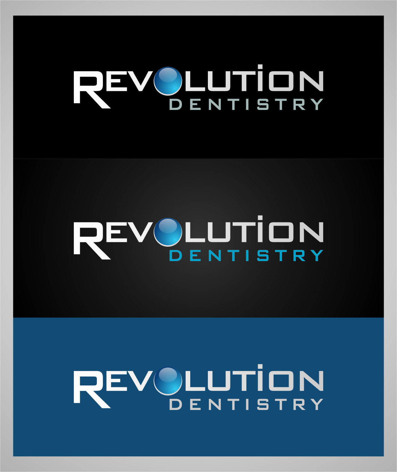 Logo Design by Ngepet_art - Entry No. 268 in the Logo Design Contest Artistic Logo Design for Revolution Dentistry.
