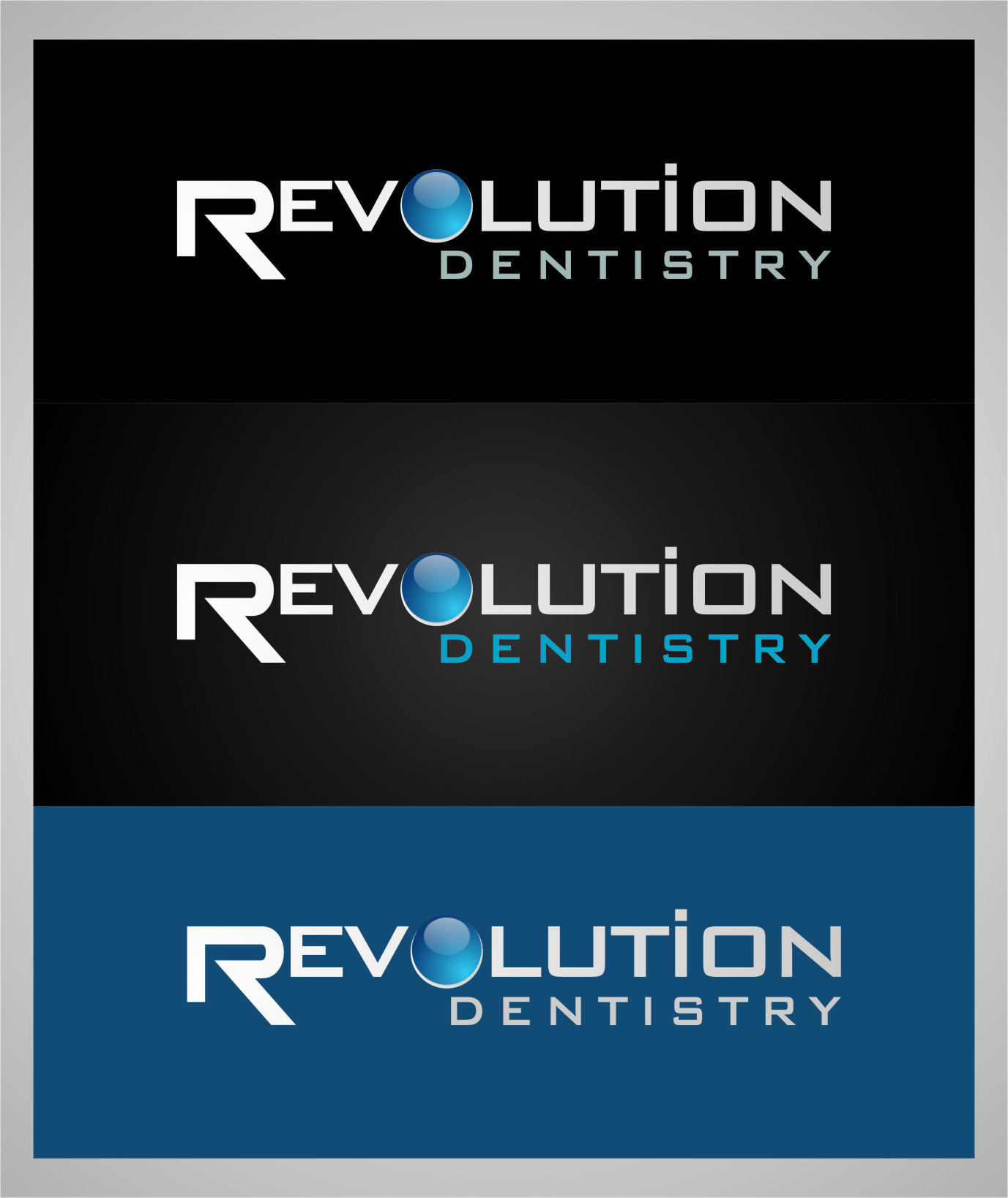 Logo Design by RasYa Muhammad Athaya - Entry No. 269 in the Logo Design Contest Artistic Logo Design for Revolution Dentistry.