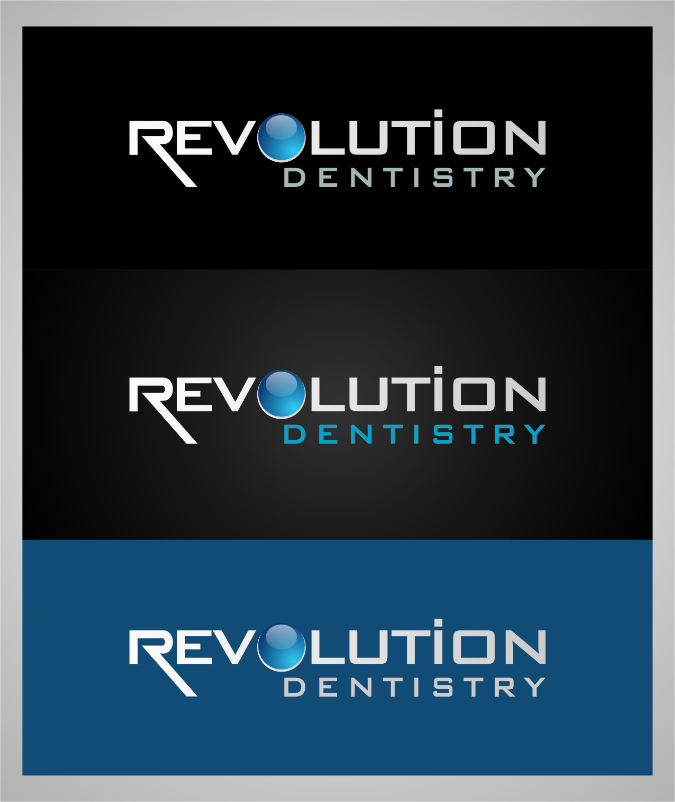 Logo Design by Ngepet_art - Entry No. 271 in the Logo Design Contest Artistic Logo Design for Revolution Dentistry.