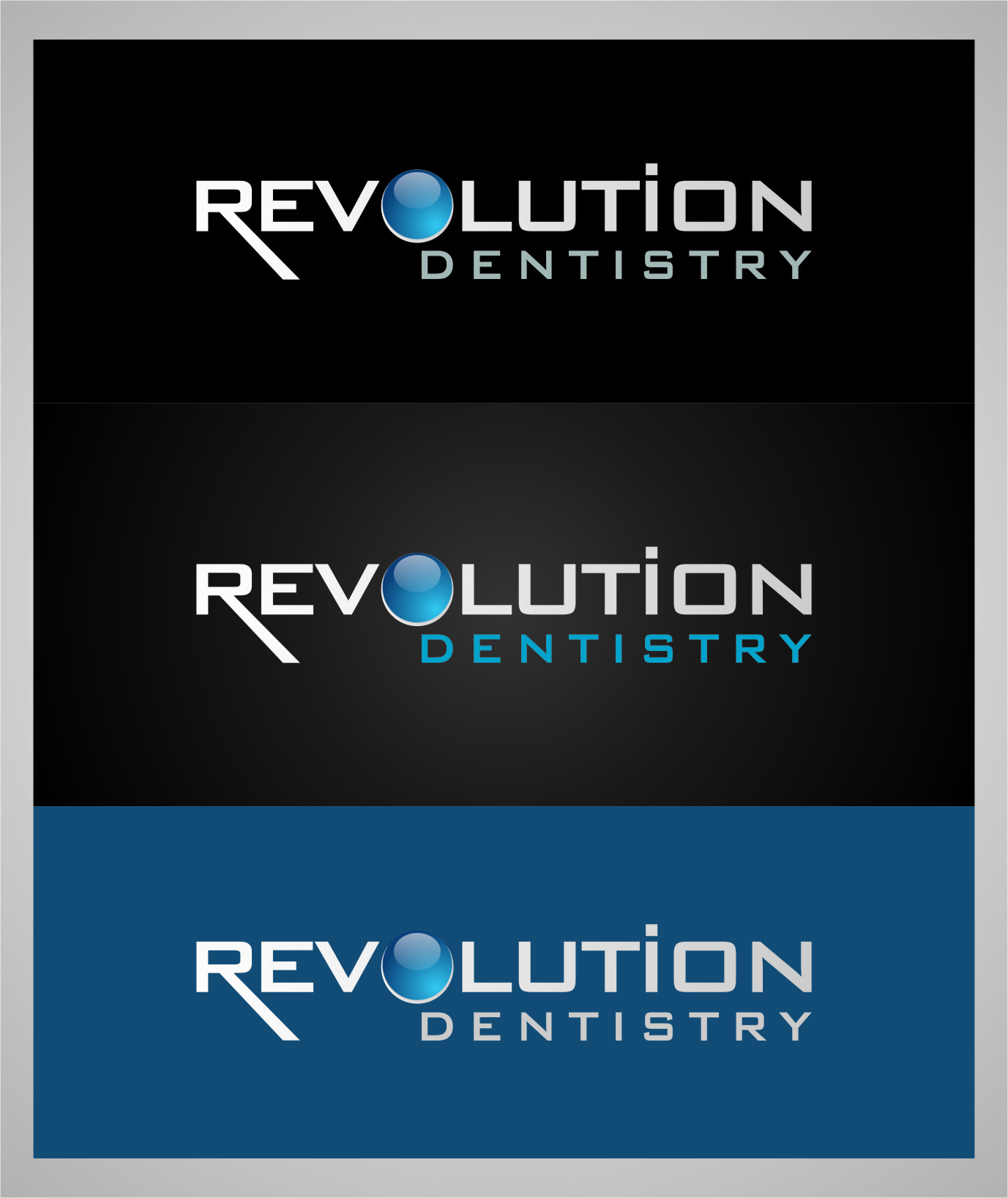 Logo Design by Ngepet_art - Entry No. 272 in the Logo Design Contest Artistic Logo Design for Revolution Dentistry.