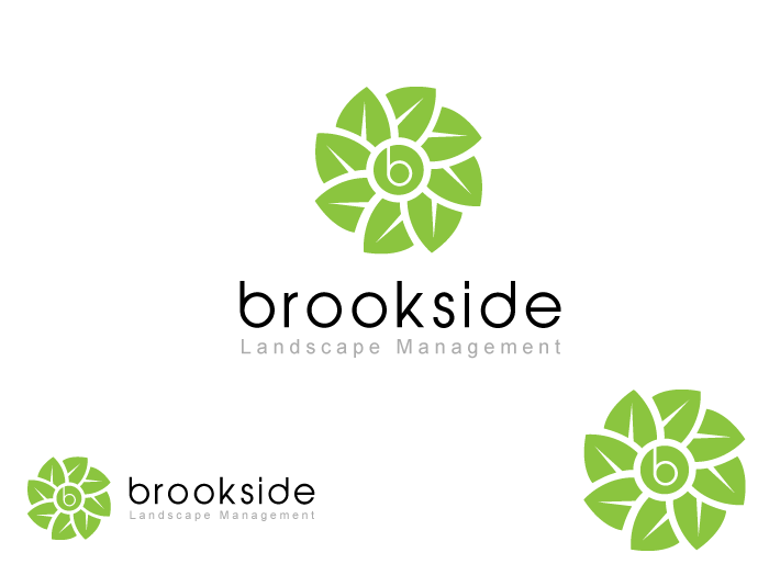 Logo Design by Jan Chua - Entry No. 140 in the Logo Design Contest New Logo Design for Brookside Landscape Management.