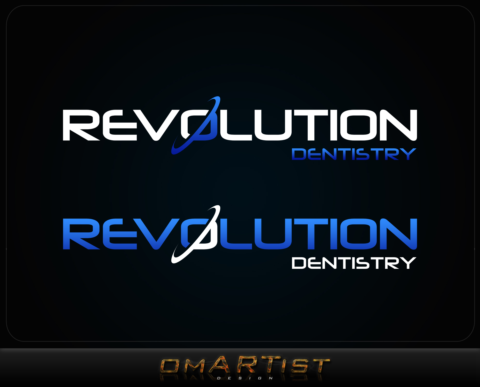 Logo Design by omARTist - Entry No. 273 in the Logo Design Contest Artistic Logo Design for Revolution Dentistry.