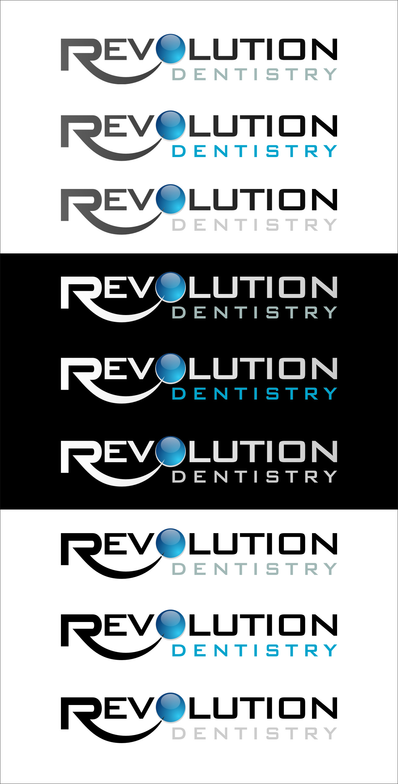 Logo Design by RoSyid Rono-Rene On Java - Entry No. 277 in the Logo Design Contest Artistic Logo Design for Revolution Dentistry.