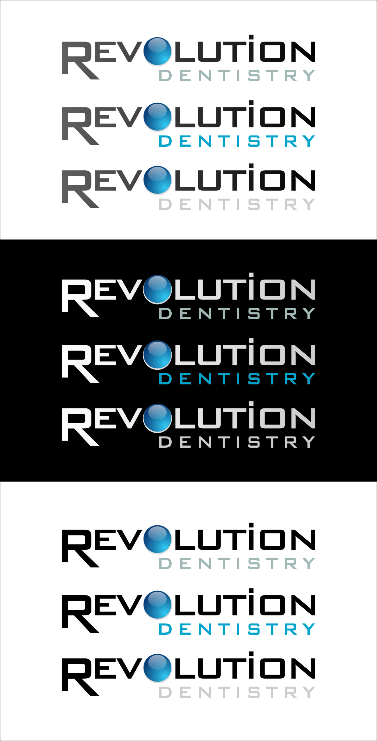 Logo Design by Ngepet_art - Entry No. 280 in the Logo Design Contest Artistic Logo Design for Revolution Dentistry.