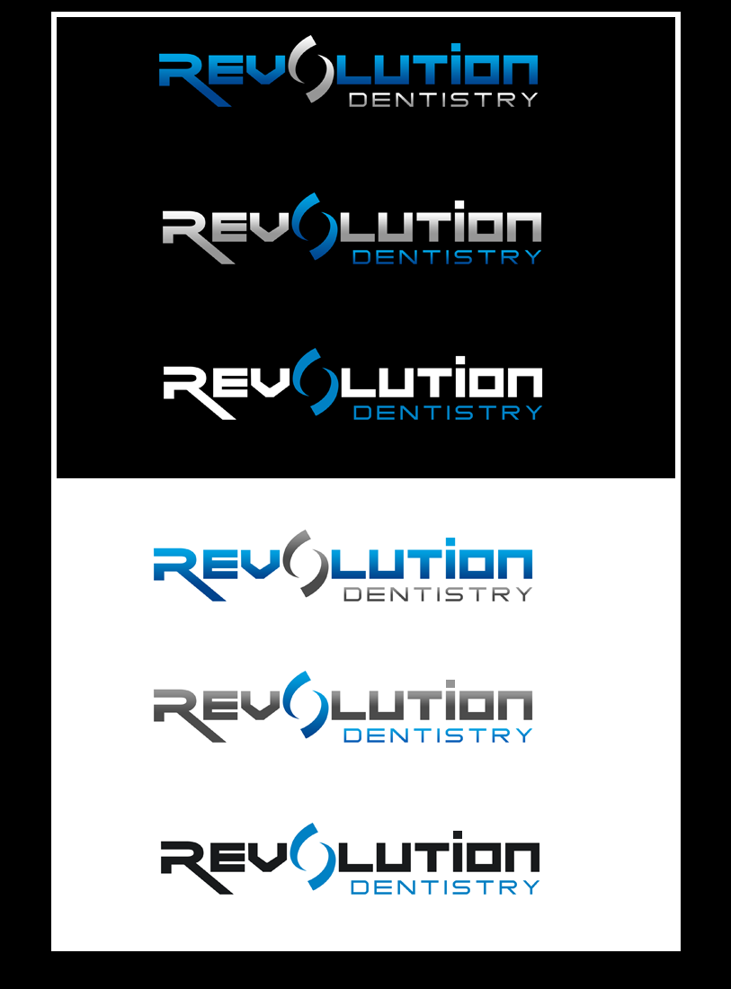Logo Design by Private User - Entry No. 283 in the Logo Design Contest Artistic Logo Design for Revolution Dentistry.