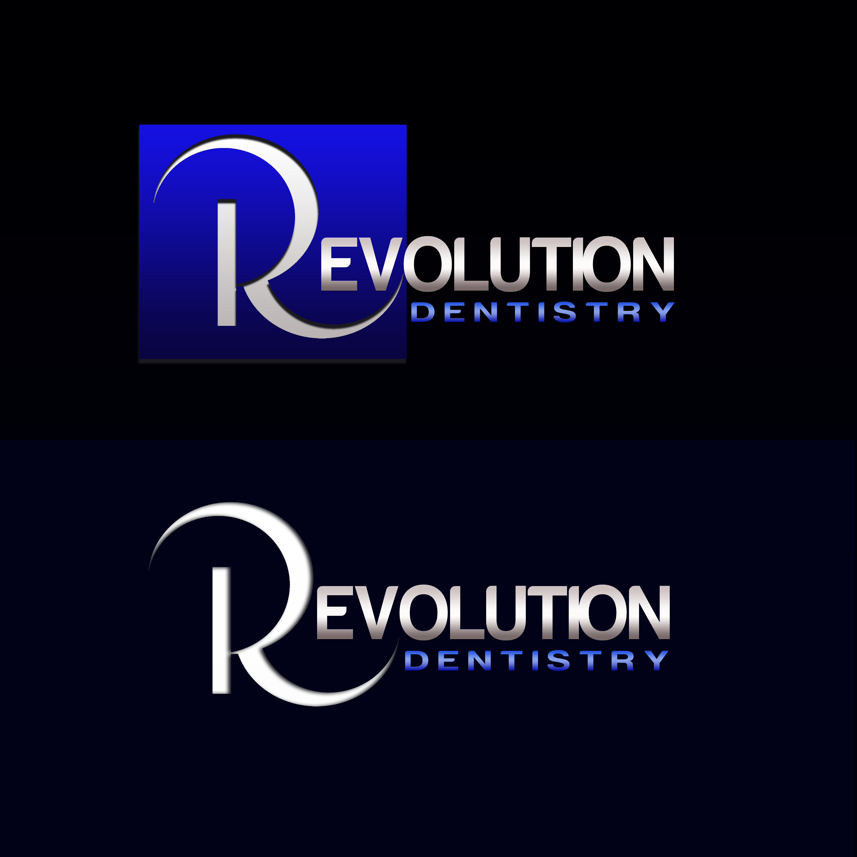 Logo Design by Allan Esclamado - Entry No. 284 in the Logo Design Contest Artistic Logo Design for Revolution Dentistry.