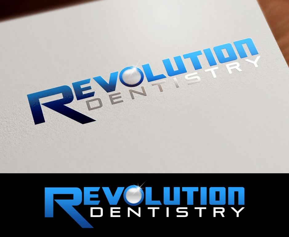 Logo Design by Juan_Kata - Entry No. 285 in the Logo Design Contest Artistic Logo Design for Revolution Dentistry.