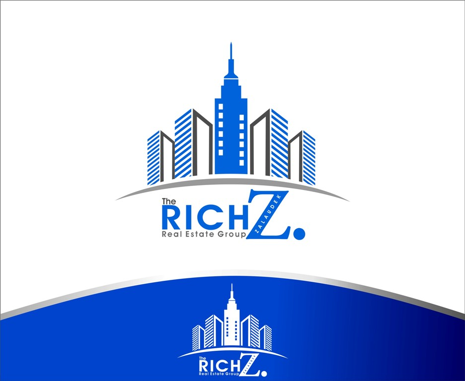Logo Design by Mhon_Rose - Entry No. 25 in the Logo Design Contest The Rich Z. Real Estate Group Logo Design.