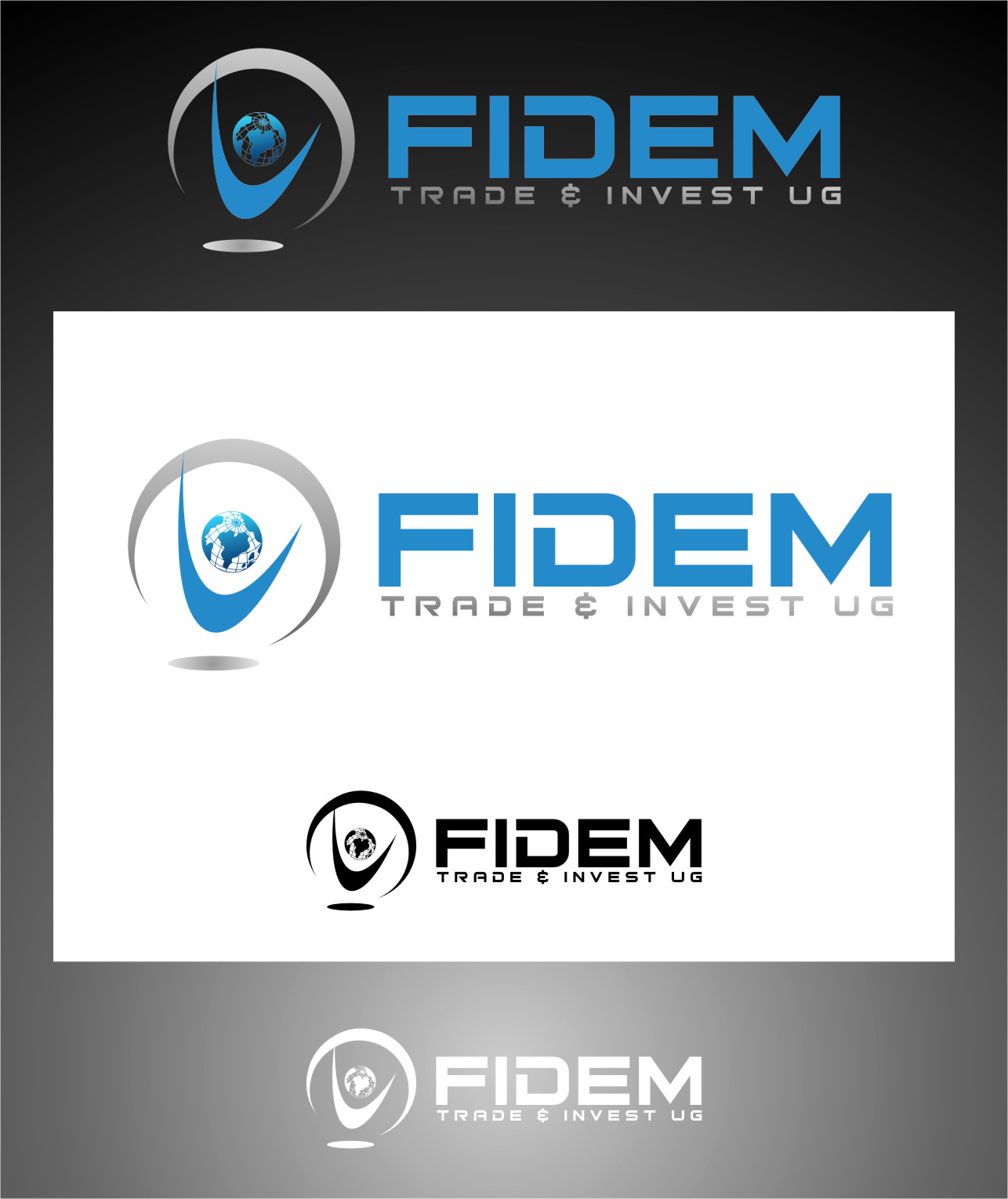 Logo Design by RasYa Muhammad Athaya - Entry No. 528 in the Logo Design Contest Professional Logo Design for FIDEM Trade & Invest UG.