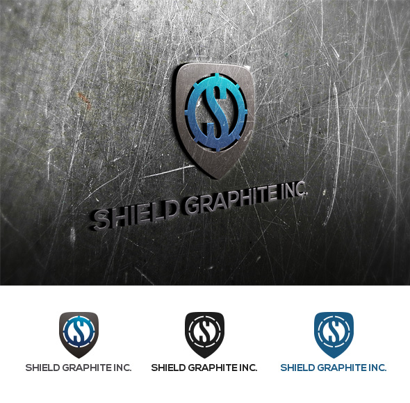 Logo Design by Virgilio Pineda III - Entry No. 21 in the Logo Design Contest Imaginative Logo Design for Shield Graphite Inc..