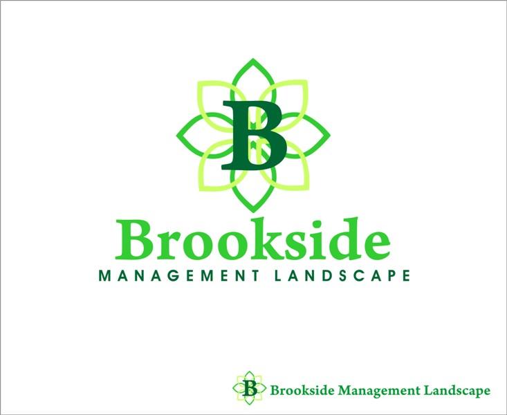 Logo Design by Mhon_Rose - Entry No. 142 in the Logo Design Contest New Logo Design for Brookside Landscape Management.