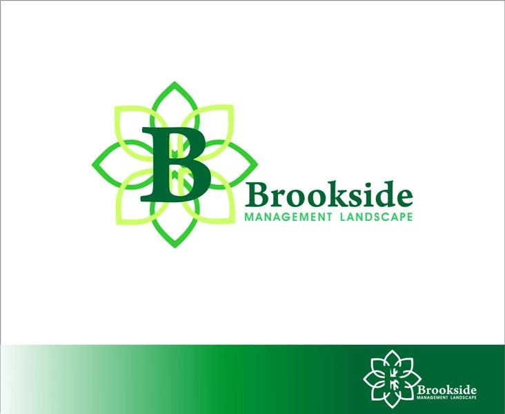 Logo Design by Mhon_Rose - Entry No. 143 in the Logo Design Contest New Logo Design for Brookside Landscape Management.