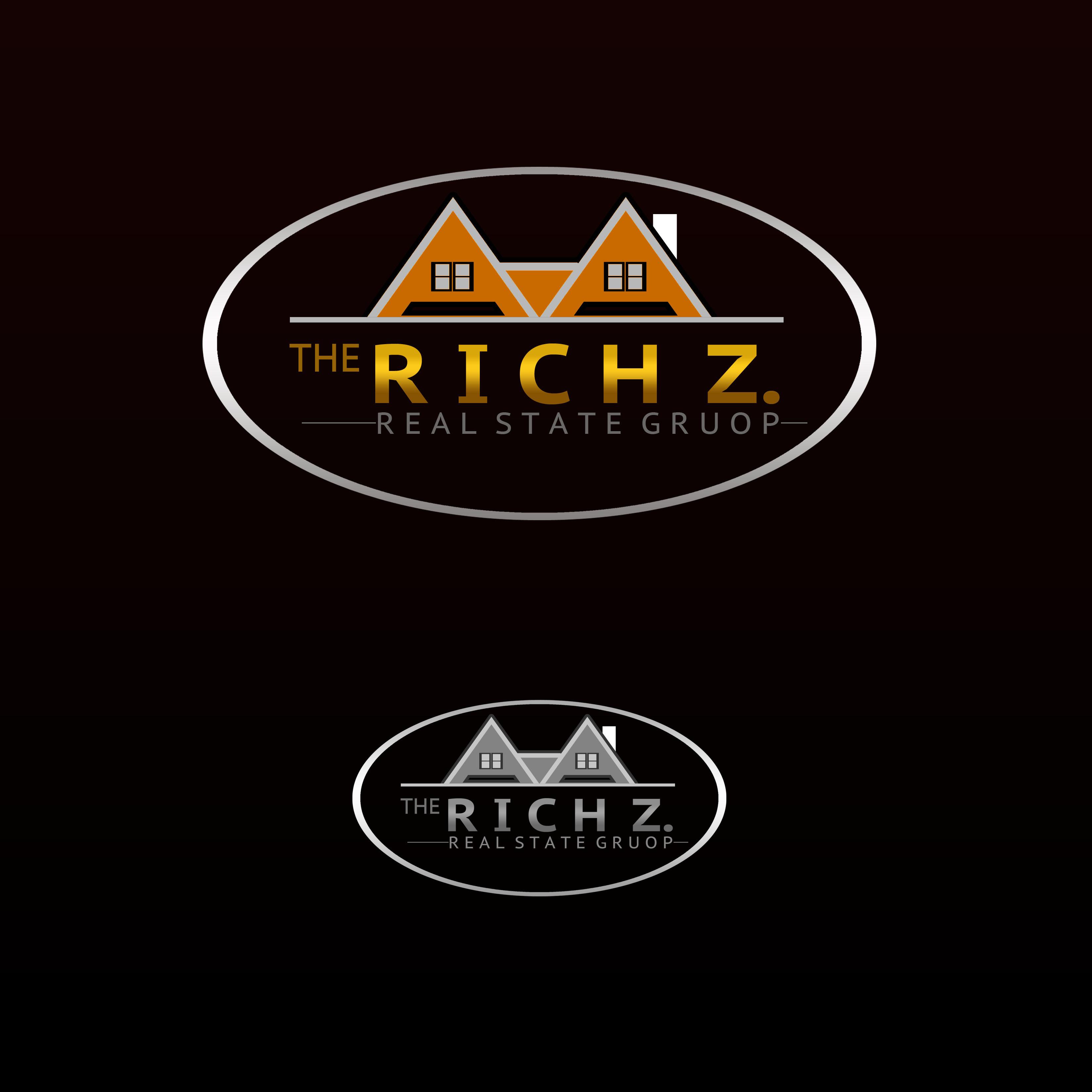 Logo Design by Allan Esclamado - Entry No. 26 in the Logo Design Contest The Rich Z. Real Estate Group Logo Design.