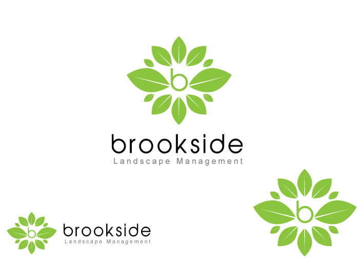 Logo Design by Jan Chua - Entry No. 144 in the Logo Design Contest New Logo Design for Brookside Landscape Management.