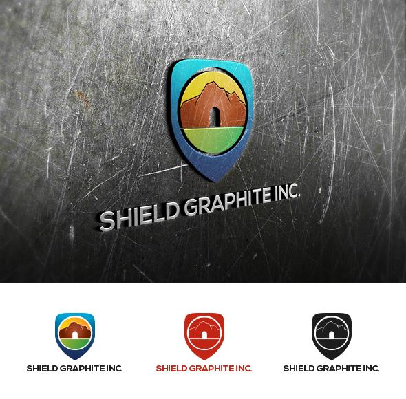Logo Design by Virgilio Pineda III - Entry No. 22 in the Logo Design Contest Imaginative Logo Design for Shield Graphite Inc..