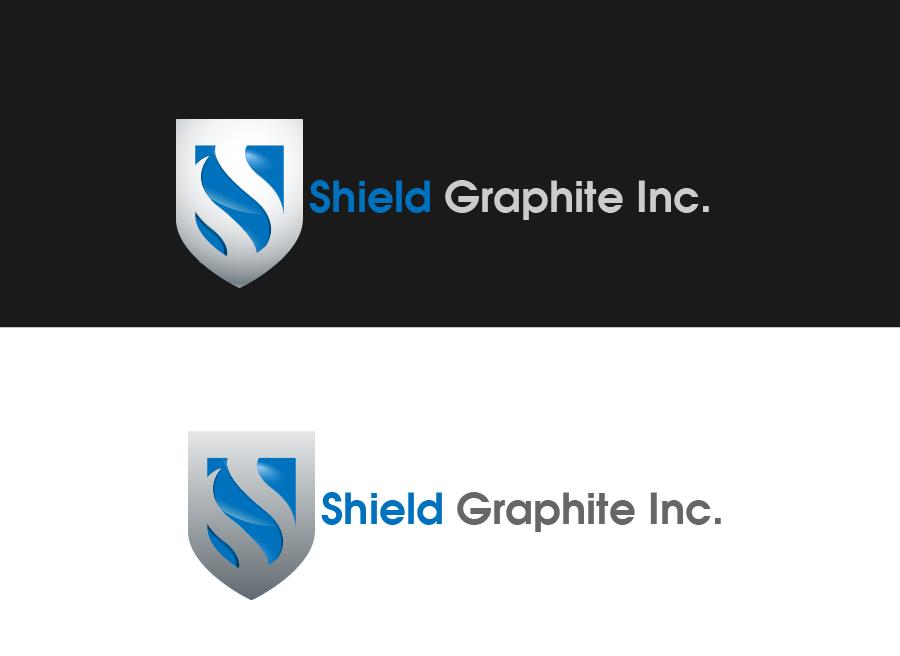 Logo Design by Private User - Entry No. 23 in the Logo Design Contest Imaginative Logo Design for Shield Graphite Inc..