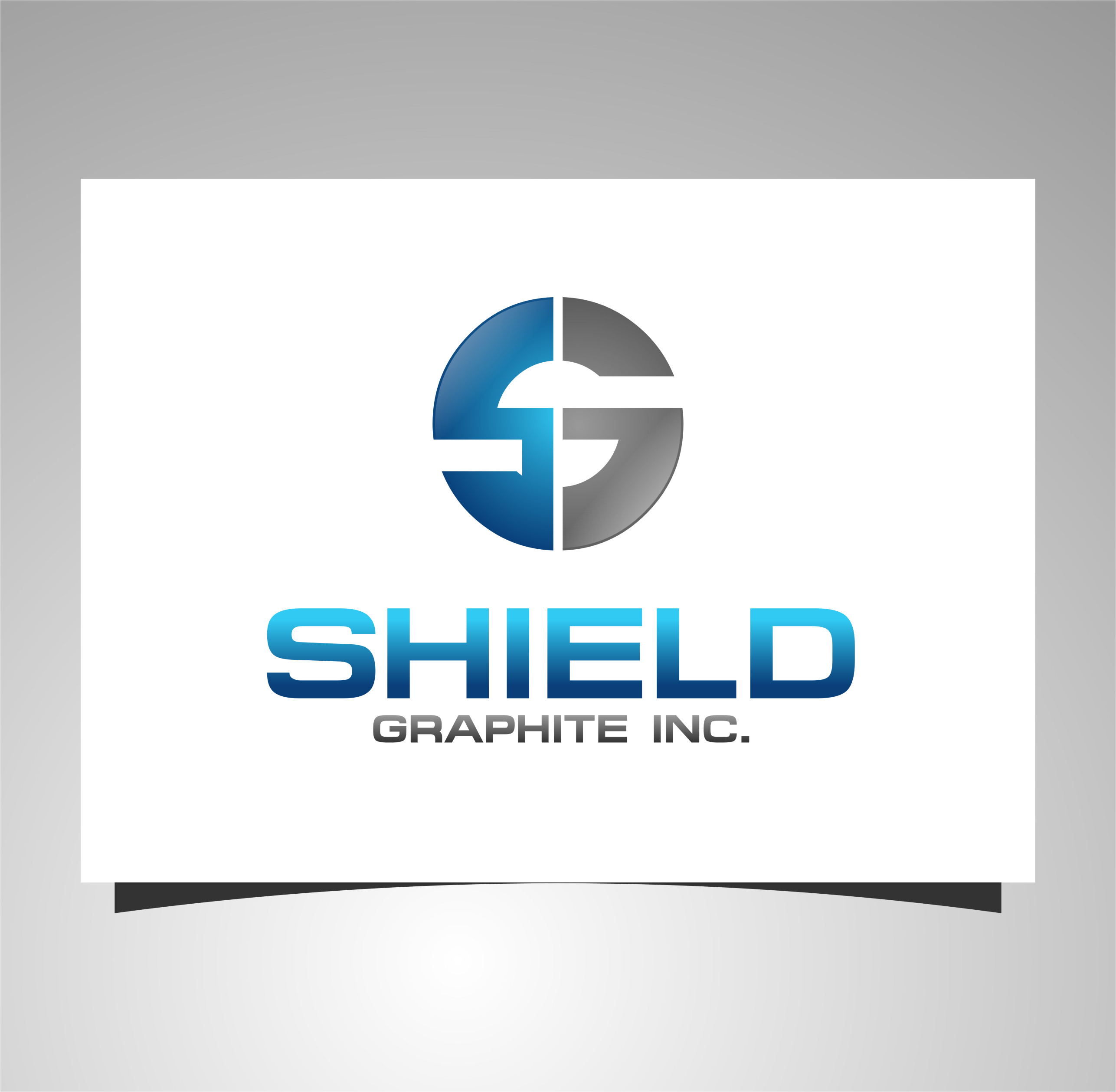 Logo Design by Ngepet_art - Entry No. 25 in the Logo Design Contest Imaginative Logo Design for Shield Graphite Inc..