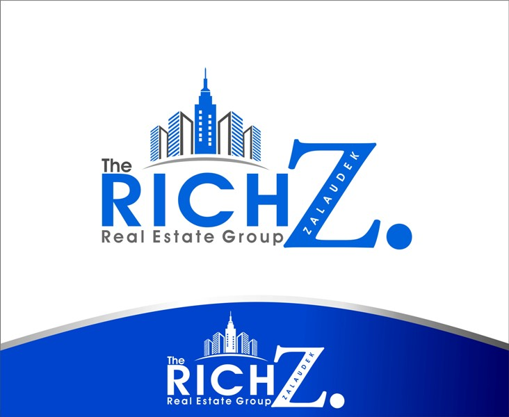 Logo Design by Mhon_Rose - Entry No. 30 in the Logo Design Contest The Rich Z. Real Estate Group Logo Design.