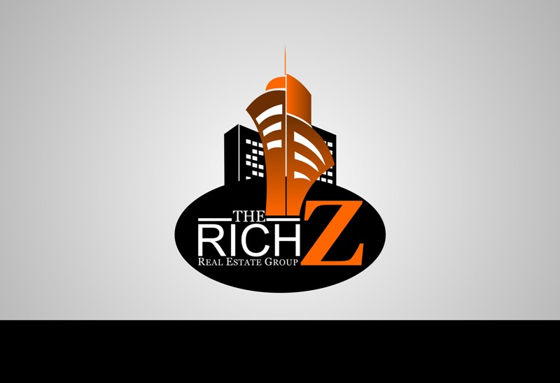 Logo Design by Crispin Jr Vasquez - Entry No. 32 in the Logo Design Contest The Rich Z. Real Estate Group Logo Design.