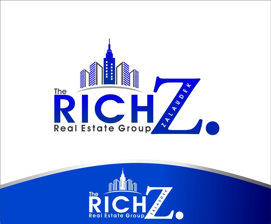 Logo Design by Mhon_Rose - Entry No. 35 in the Logo Design Contest The Rich Z. Real Estate Group Logo Design.