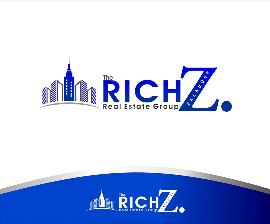 Logo Design by Mhon_Rose - Entry No. 36 in the Logo Design Contest The Rich Z. Real Estate Group Logo Design.