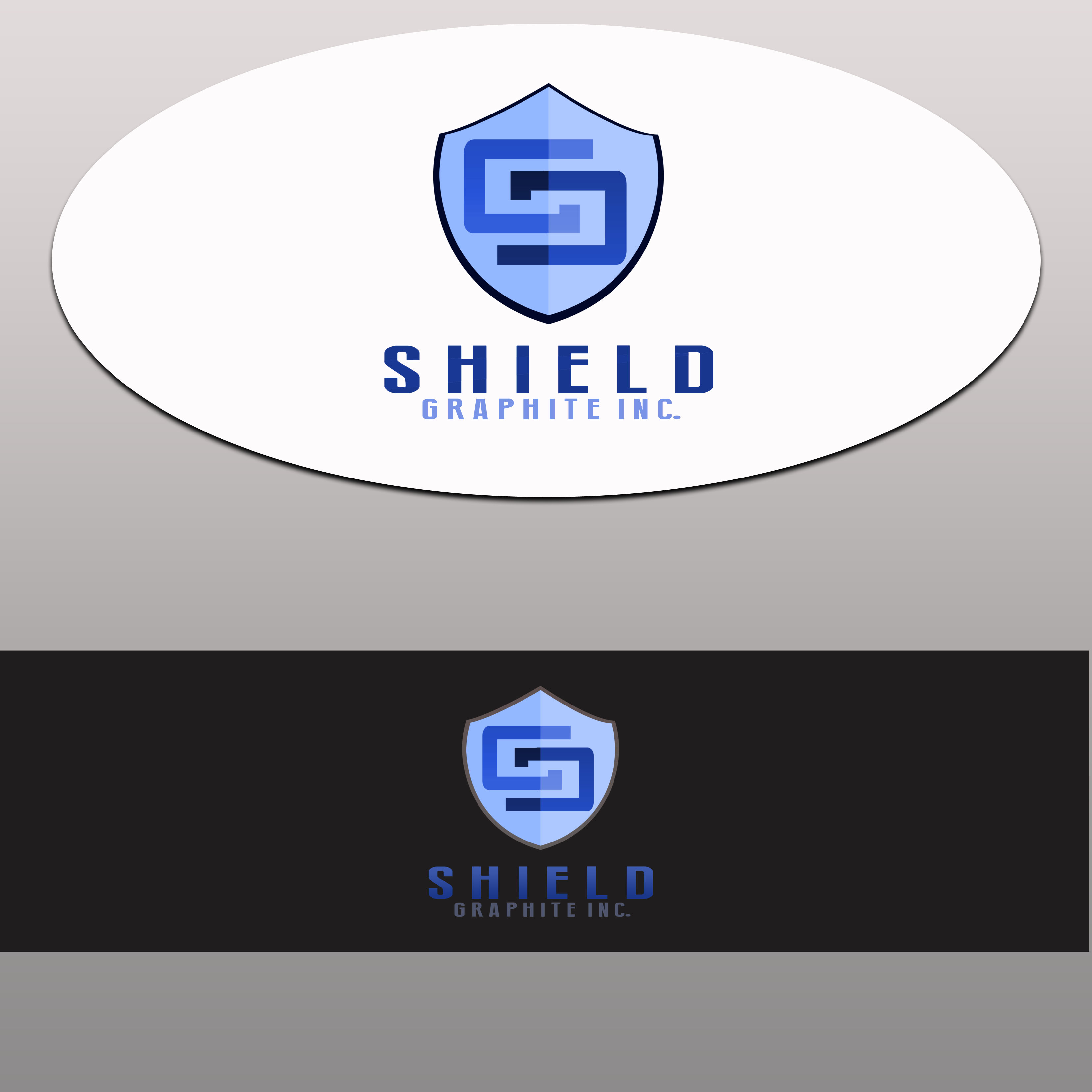 Logo Design by Allan Esclamado - Entry No. 32 in the Logo Design Contest Imaginative Logo Design for Shield Graphite Inc..