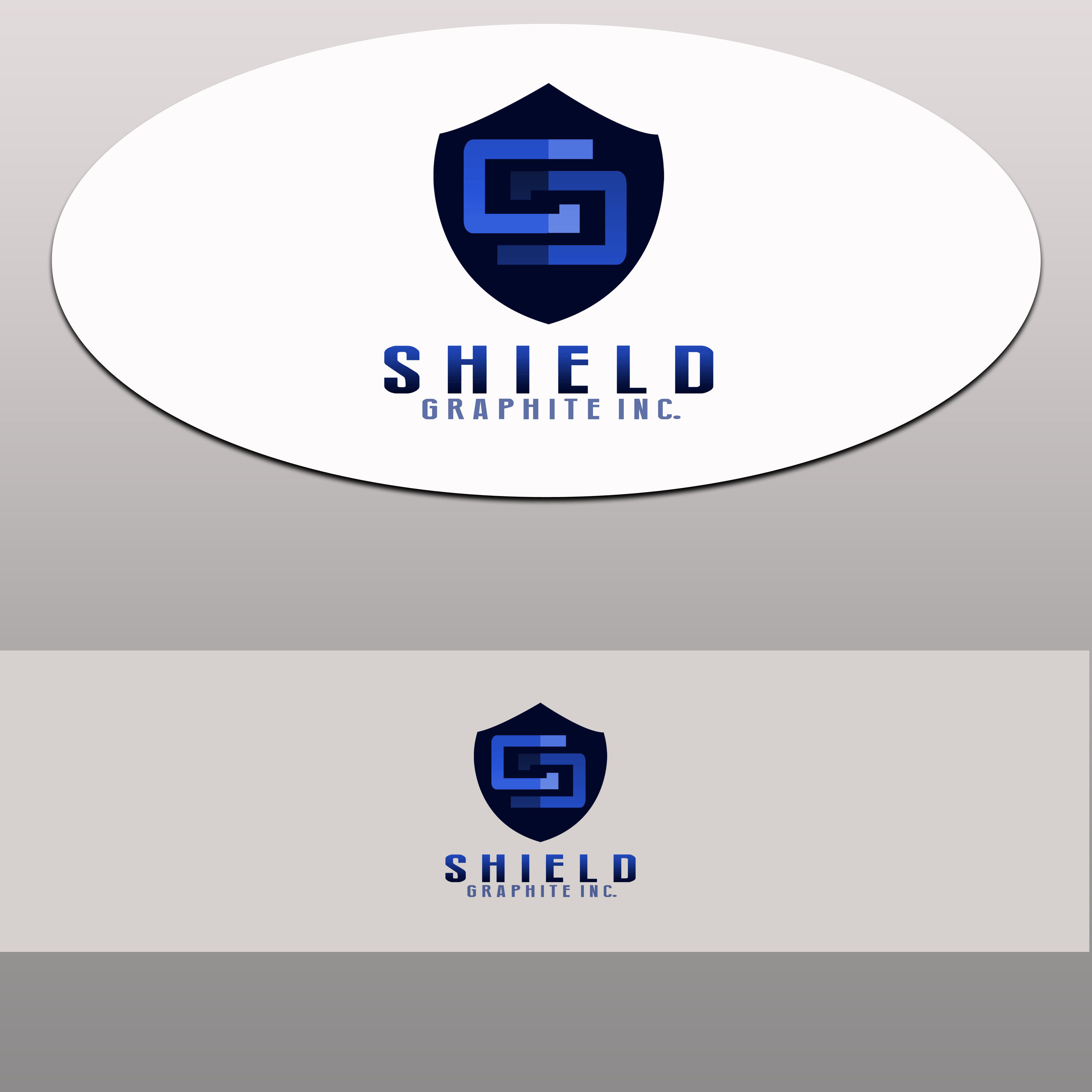 Logo Design by Allan Esclamado - Entry No. 33 in the Logo Design Contest Imaginative Logo Design for Shield Graphite Inc..