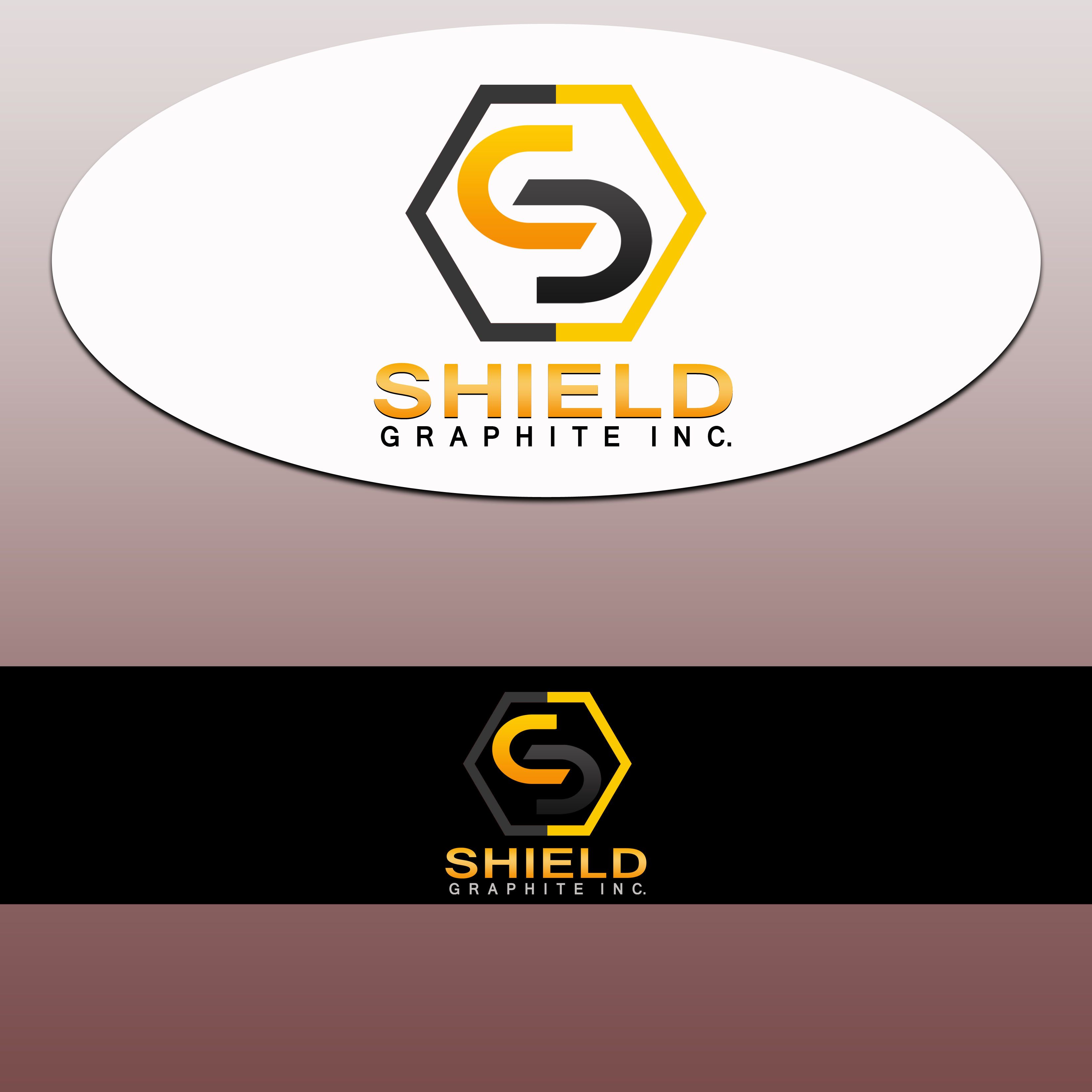 Logo Design by Allan Esclamado - Entry No. 35 in the Logo Design Contest Imaginative Logo Design for Shield Graphite Inc..