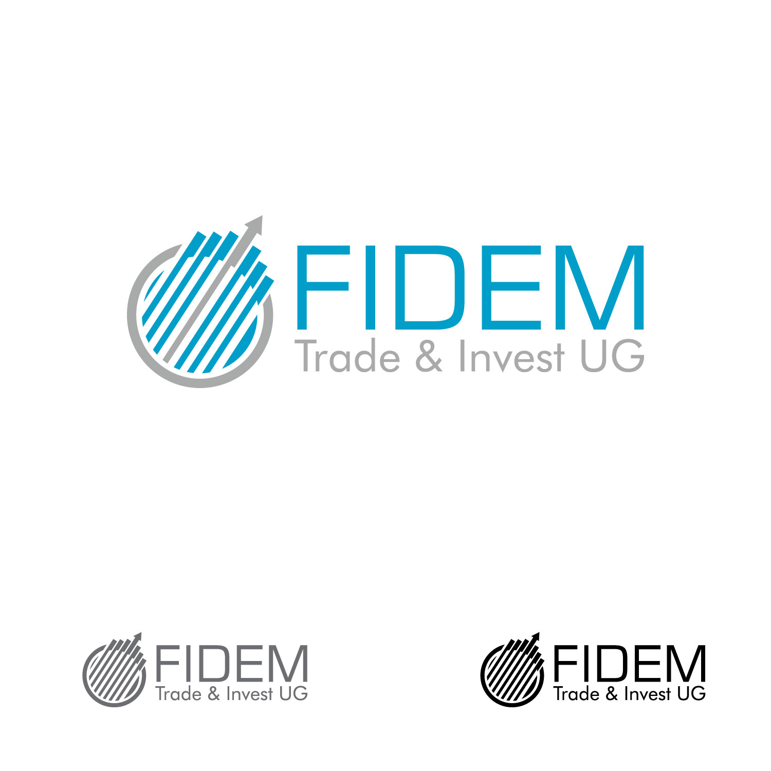 Logo Design by lagalag - Entry No. 572 in the Logo Design Contest Professional Logo Design for FIDEM Trade & Invest UG.