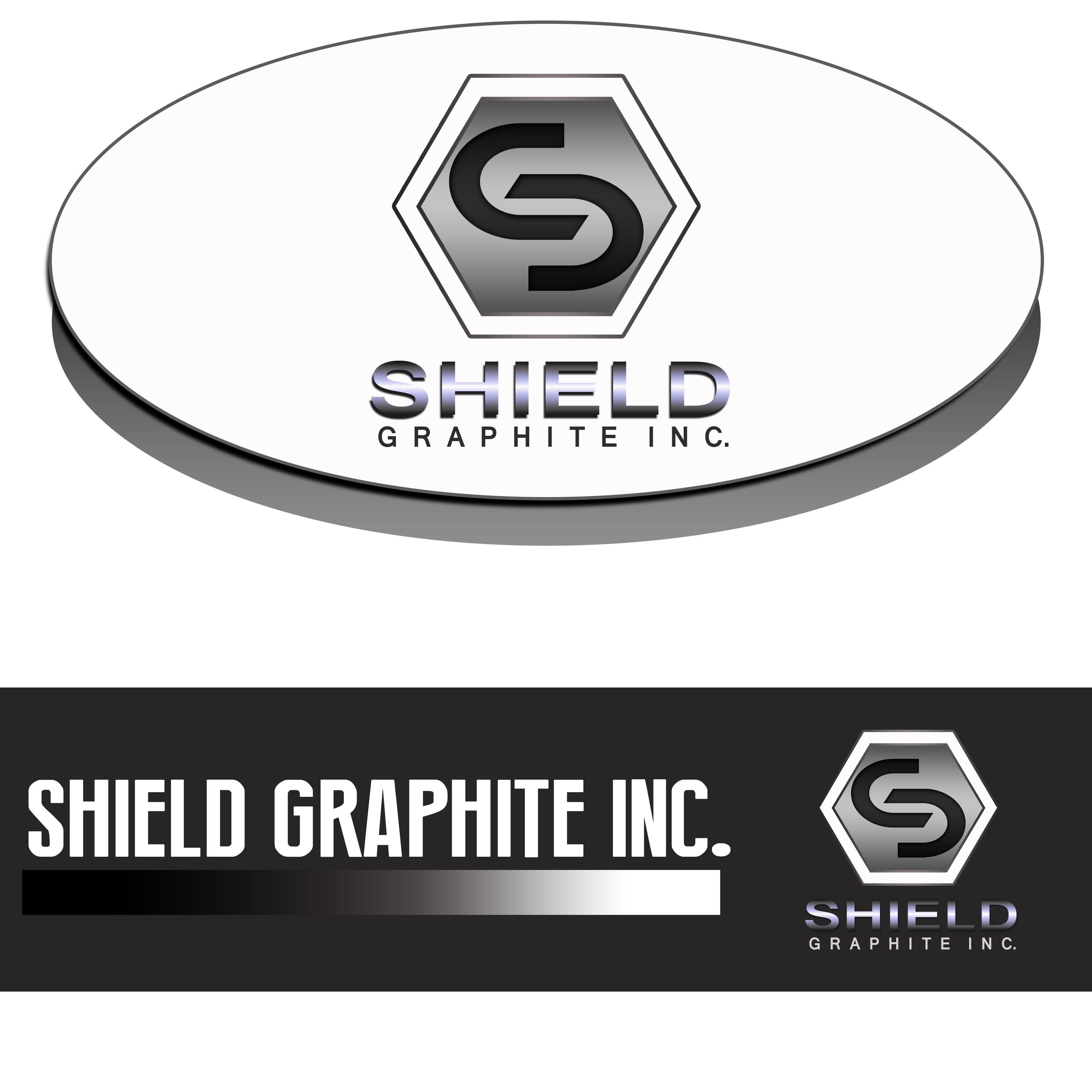 Logo Design by Allan Esclamado - Entry No. 40 in the Logo Design Contest Imaginative Logo Design for Shield Graphite Inc..