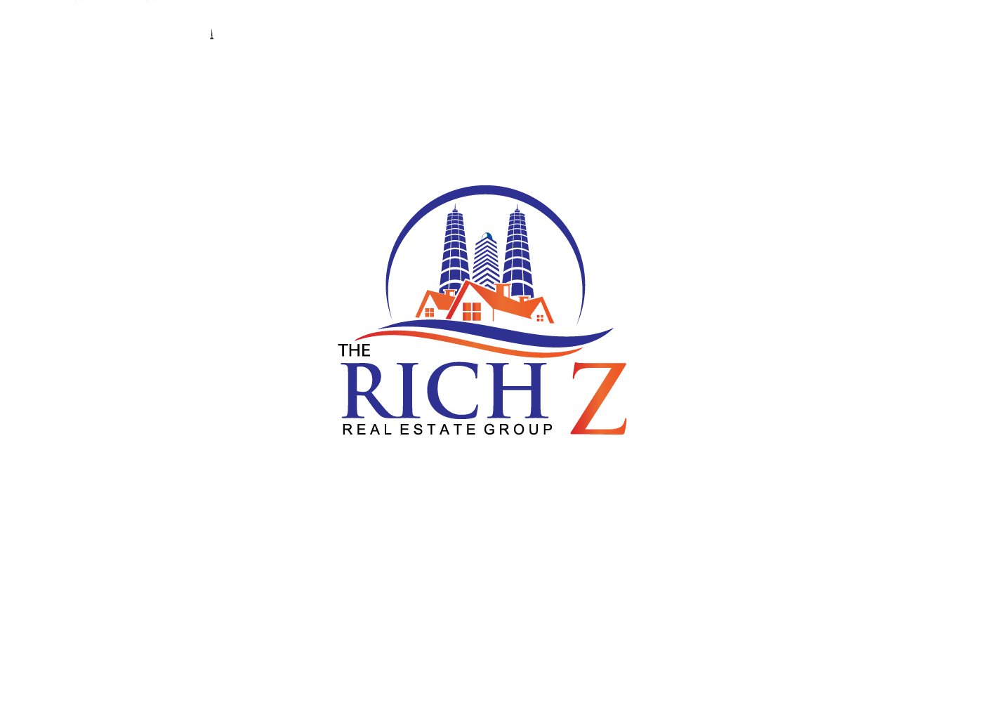 Logo Design by find_finder - Entry No. 41 in the Logo Design Contest The Rich Z. Real Estate Group Logo Design.