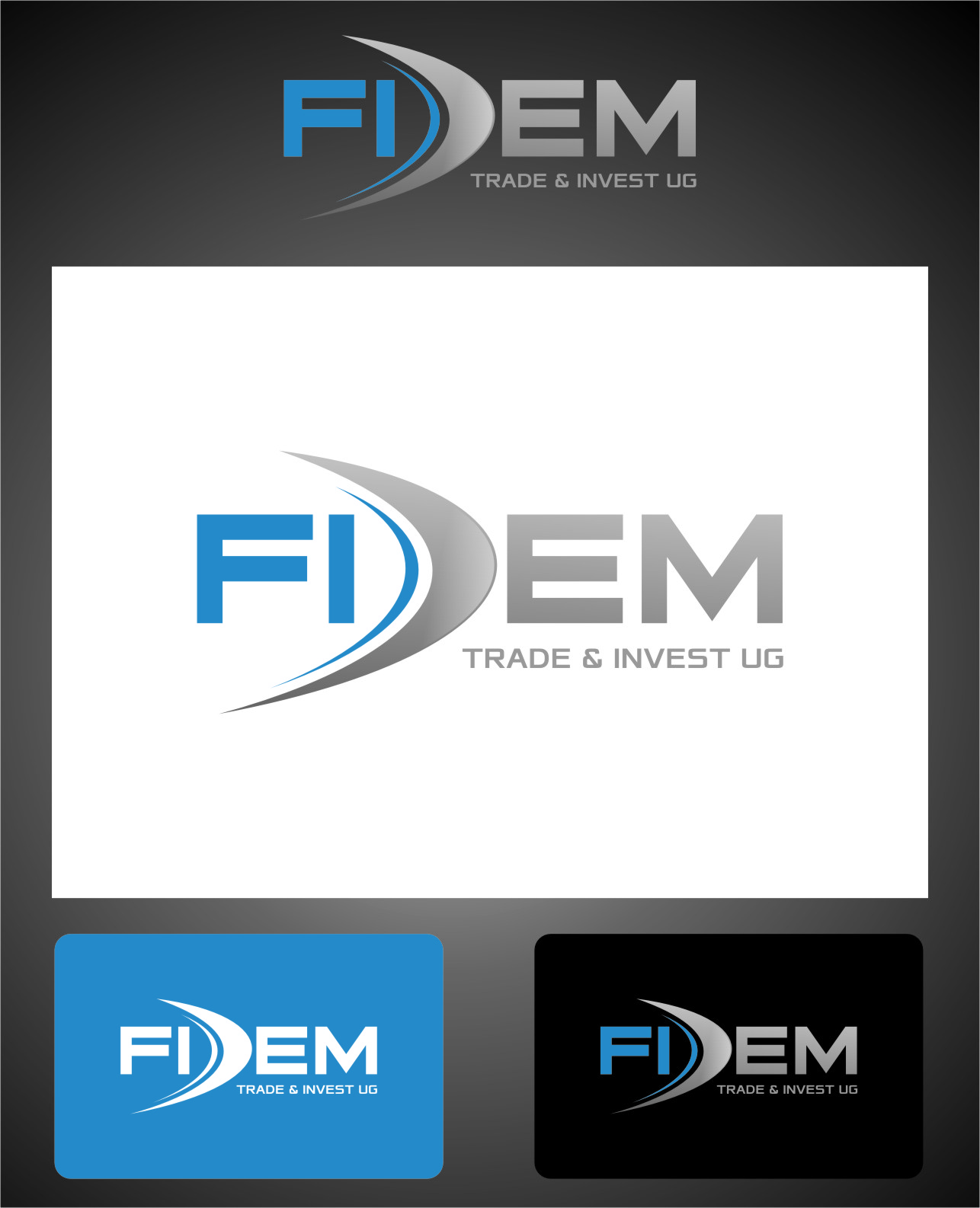 Logo Design by Ngepet_art - Entry No. 576 in the Logo Design Contest Professional Logo Design for FIDEM Trade & Invest UG.