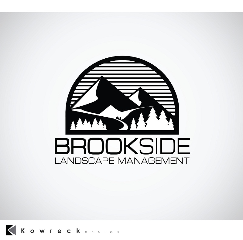 Logo Design by kowreck - Entry No. 146 in the Logo Design Contest New Logo Design for Brookside Landscape Management.