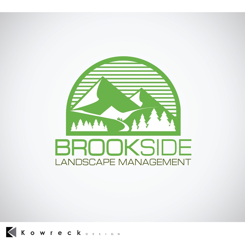 Logo Design by kowreck - Entry No. 147 in the Logo Design Contest New Logo Design for Brookside Landscape Management.