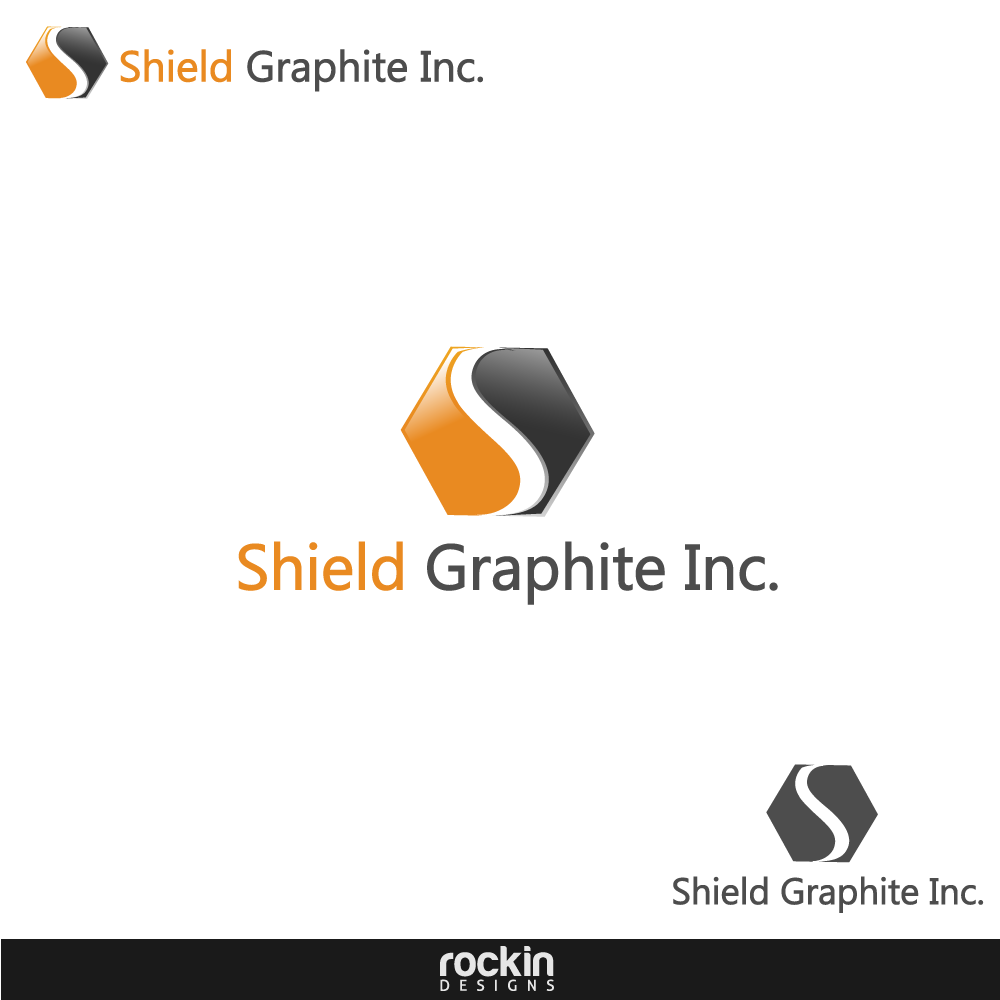 Logo Design by rockin - Entry No. 48 in the Logo Design Contest Imaginative Logo Design for Shield Graphite Inc..