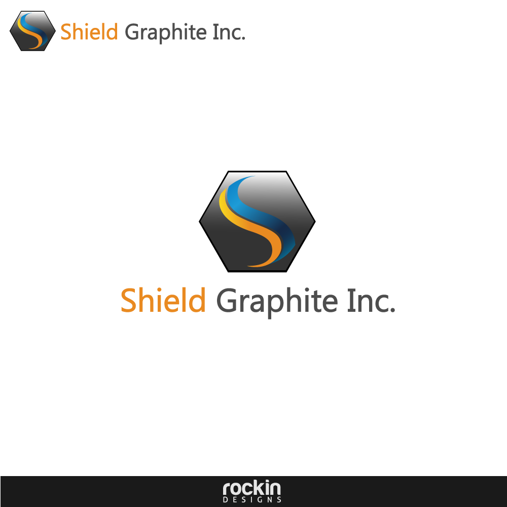 Logo Design by rockin - Entry No. 49 in the Logo Design Contest Imaginative Logo Design for Shield Graphite Inc..