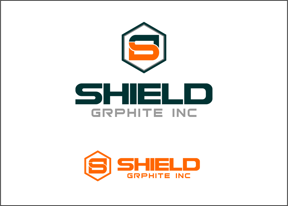 Logo Design by Agus Martoyo - Entry No. 53 in the Logo Design Contest Imaginative Logo Design for Shield Graphite Inc..