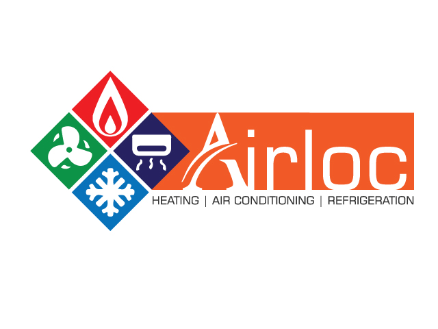 Logo Design by ronik.web - Entry No. 2 in the Logo Design Contest Airloc Logo Design.