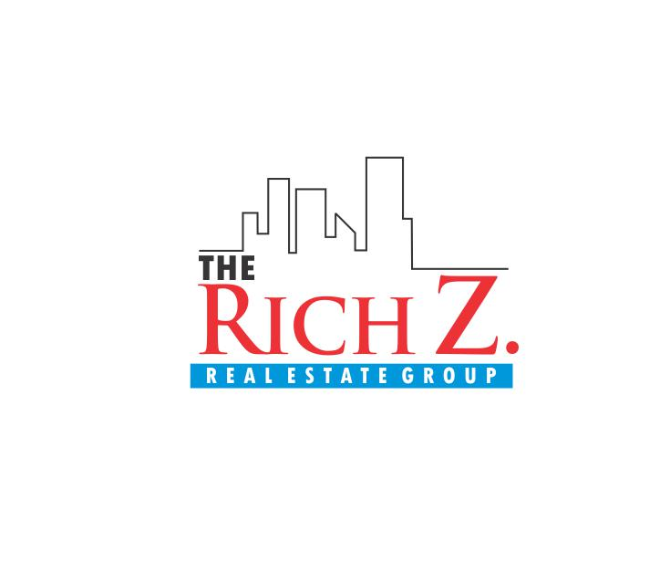 Logo Design by ronny - Entry No. 53 in the Logo Design Contest The Rich Z. Real Estate Group Logo Design.
